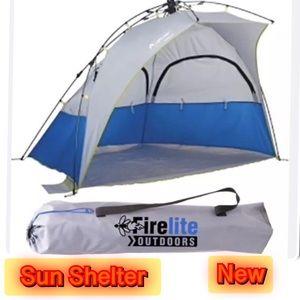 Firelite Ripcord sun shelter 190T upf50 UV+bag